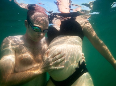 Breanna and John Arrigo at the Waterfront, Darwin.