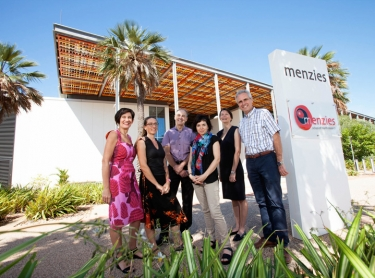 Researchers at Menzies School of Health, Hot North program, Darwin NT