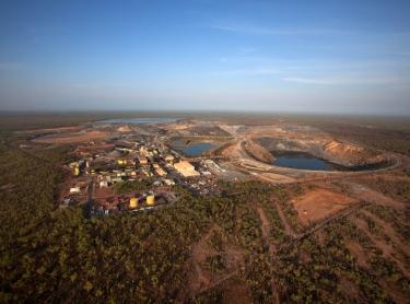 Jabiru township supports ERA's uranium mining operation in Kakadu NP