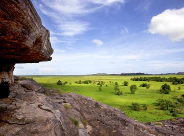 Kakadu National Park late in the dry season just after some rains. Ubirr