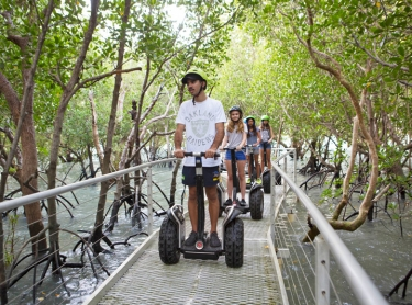 Segway Tours in Darwin - Botanic Gardens , East point, mangrove walk