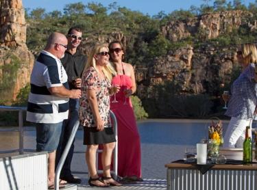 Nitmiluk NP - Cicada Lodge tourism resort - tourism destination - sunset dinner cruise