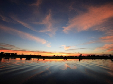 Sunset at Yellow Waters in Kakadu National Park, northern territory, Australia. meteorology weather water wetlands tour travel habitat 585 Photographer: David Hancock. Copyright: SkyScans.