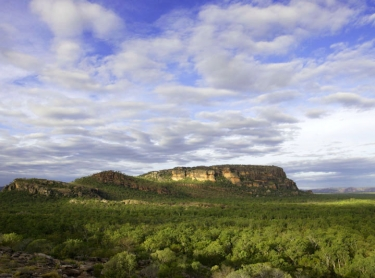 Nourlangie Rock and Anbangbang billabong. Kakadu National Park landscape IHG Photographer: david Hancock. Copyright: SkyScans